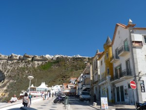 from Nazare to Sitio
