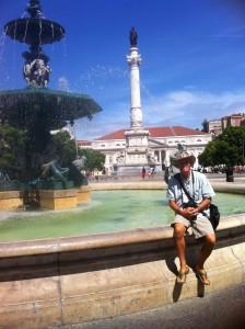 Neil in Lisbon