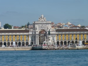 Commercial Square, taken from the River Tejo