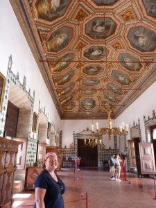 Sinta Palace, Swan Ceiling