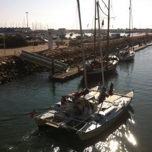 Oct 2015 Leaving Lagos Marina for final sail of the season