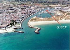 Lagos Marina and entrance