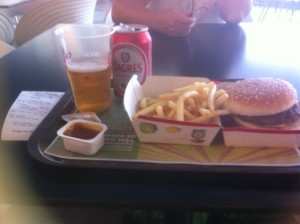 McDonalds with a Beer