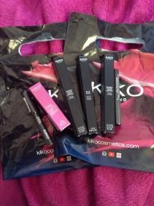 Lipstick madness in Kiko