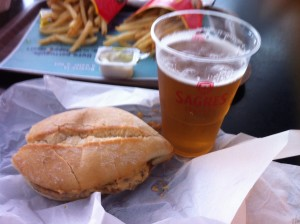 McBifana Meal with Beer