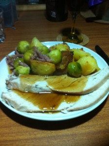 Boxing Day Supper