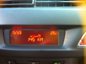 Monday 1st Feb - It was warm