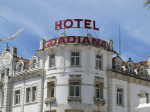 Old Hotel in Vila Real - being refurbished