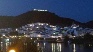 Sanlucar & Castle by Night (photo by June)