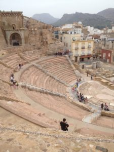 From the top of the amphitheatre
