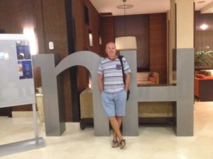 Neil Hawkesford at NH Cartagena Hotel