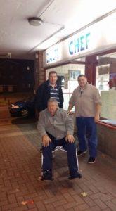 Gary, Dad & Gavin at the Balti Chef