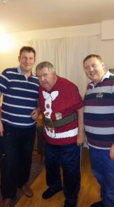 Gary, Dad and Gavin