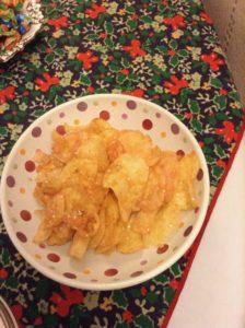 Fizzy crisps