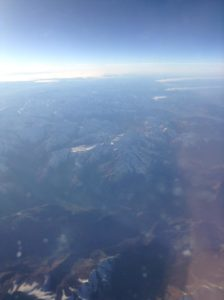 Snow capped Pyrenees
